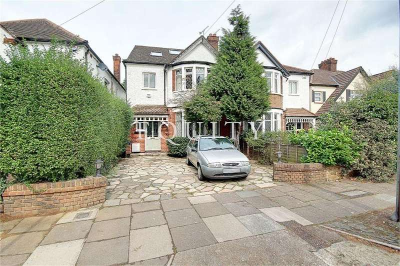 4 Bedrooms Semi Detached House for sale in Summerhill Grove, ENFIELD, EN1