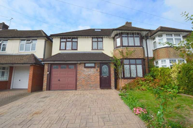 6 Bedrooms Semi Detached House for sale in Cannon Lane, Putteridge, Luton, LU2 8BJ