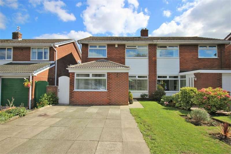 3 Bedrooms Semi Detached House for sale in Kilsby Drive, WIDNES, Cheshire