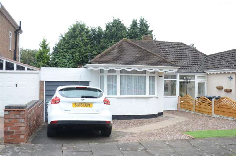 3 Bedrooms Semi Detached Bungalow for sale in Teesdale Avenue, Castle Bromwich, Birmingham
