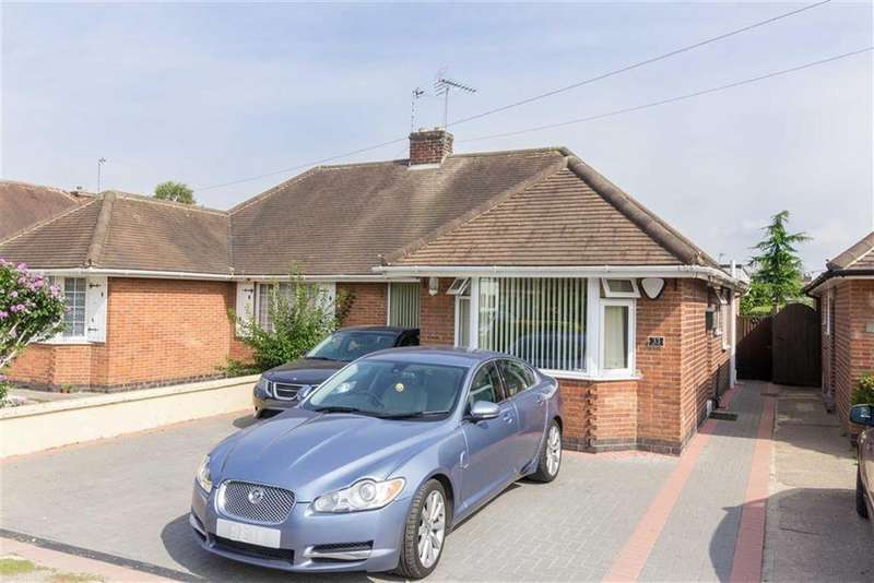 3 Bedrooms Semi Detached Bungalow for sale in Deane Street, Loughborough, LE11