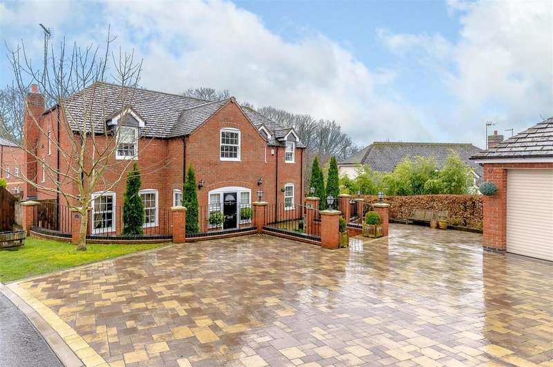 5 Bedrooms Detached House for sale in Manders Close, Astwood Bank, Redditch