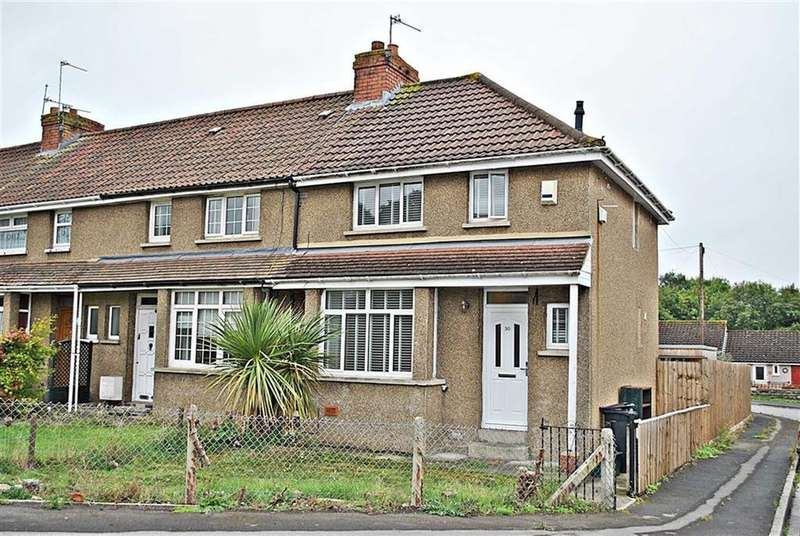 2 Bedrooms End Of Terrace House for sale in Syston Park, Kingswood, Bristol