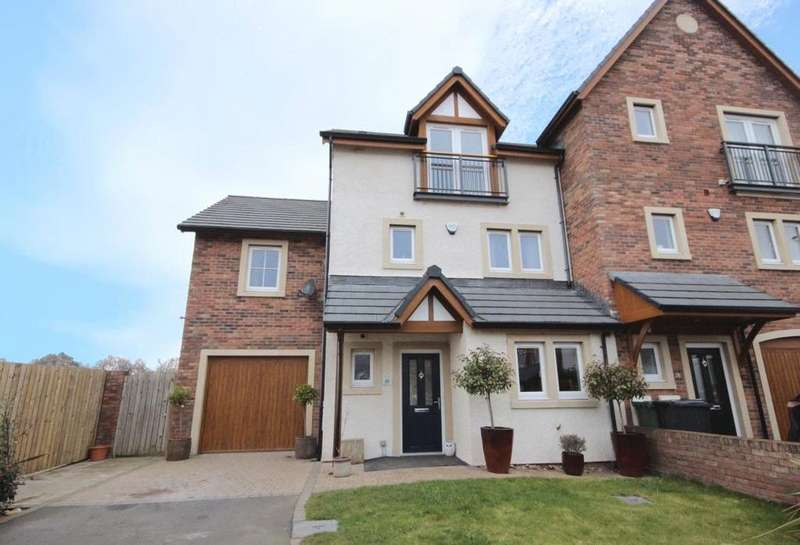 4 Bedrooms Terraced House for sale in 30 Johnston Drive, Carlisle, Cumbria