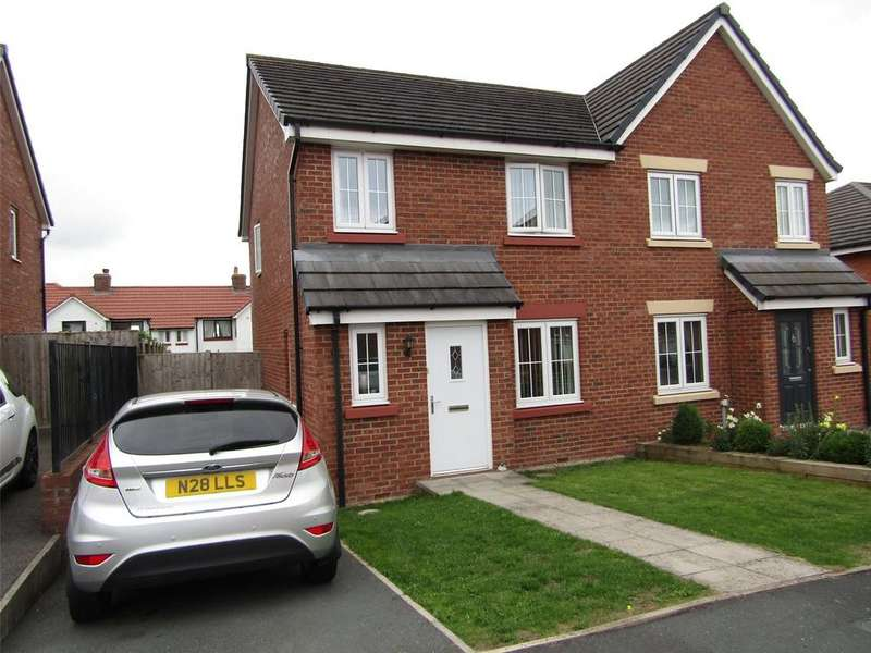 3 Bedrooms Semi Detached House for sale in 42 Cavaghan Gardens, Carlisle, Cumbria