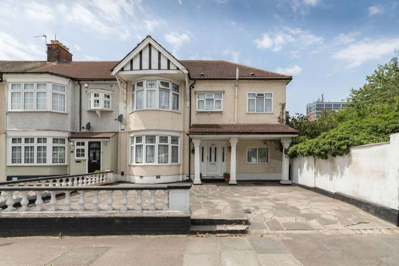 5 Bedrooms Semi Detached House for sale in Lonsdale Crescent, Gants Hill, Ilford, IG2