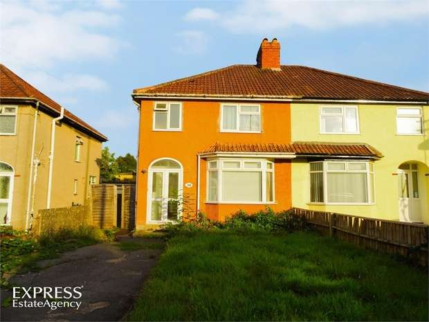 3 Bedrooms Semi Detached House for sale in Queens Road, Bishopsworth, Bristol