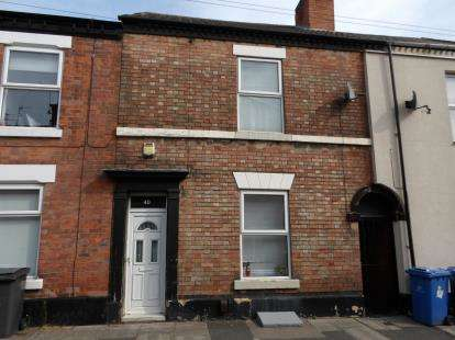 2 Bedrooms Terraced House for sale in Crompton Street, Derby, Derbyshire