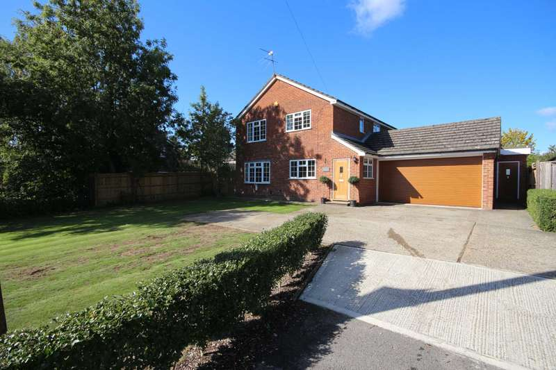 5 Bedrooms Detached House for sale in Terrace Road North, Binfield