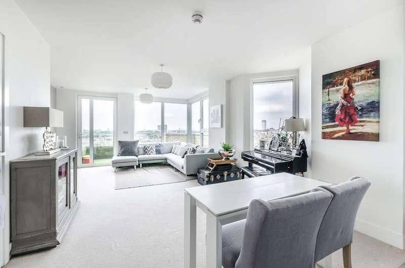 2 Bedrooms Flat for sale in Fulham Riverside, Sands End, SW6