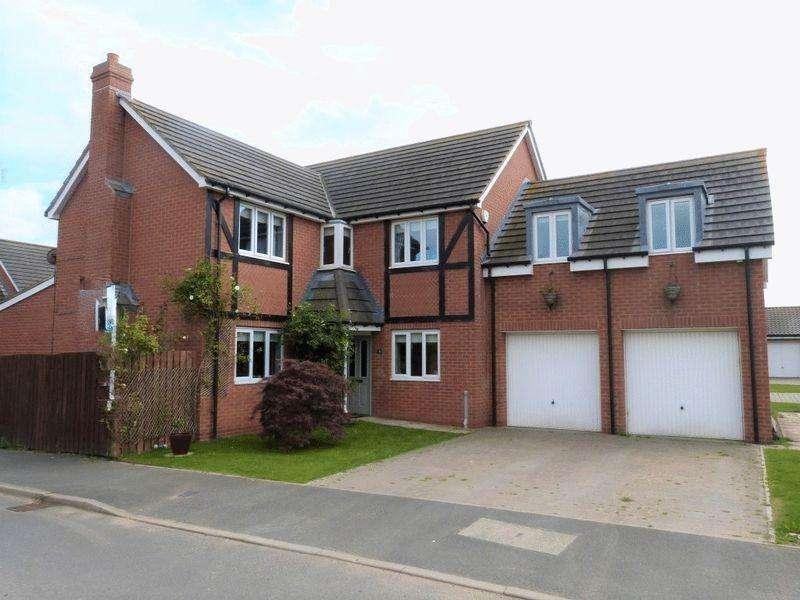 5 Bedrooms Detached House for sale in Carnoustie Close, Ashington, Five Bedroom Detached House