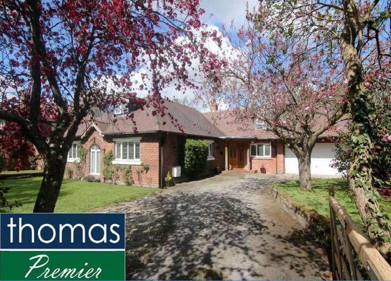 4 Bedrooms Detached House for sale in Eggbridge Lane, Waverton, Chester, CH3