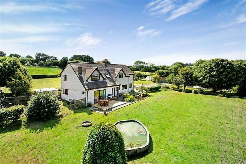 4 Bedrooms Detached House for sale in Widegates, Looe, Cornwall, PL13