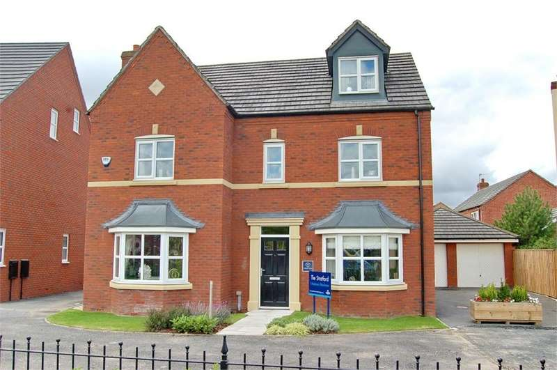 5 Bedrooms Detached House for sale in Gibfield Road, Waterside Village, ST HELENS, Merseyside