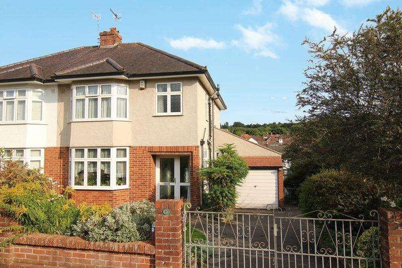 3 Bedrooms Semi Detached House for sale in Parrys Close, Bristol