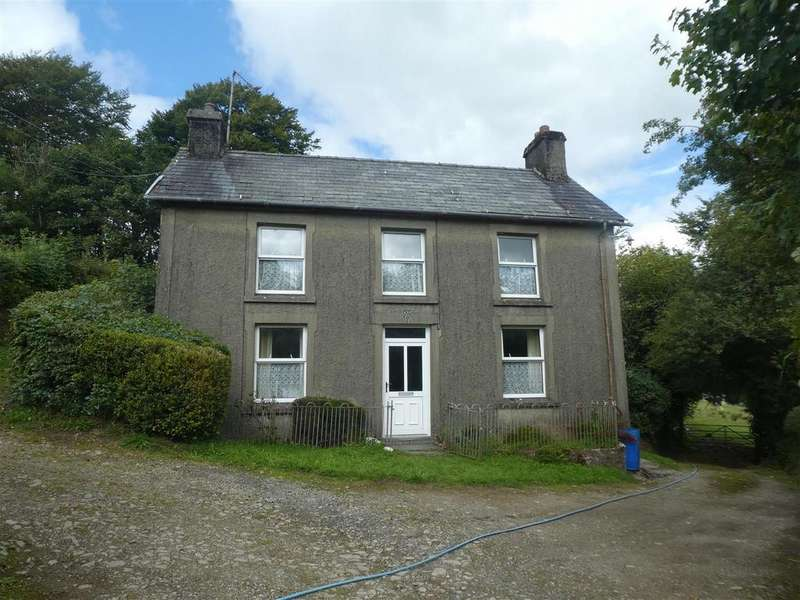 3 Bedrooms Smallholding Commercial for sale in Cribyn, Lampeter