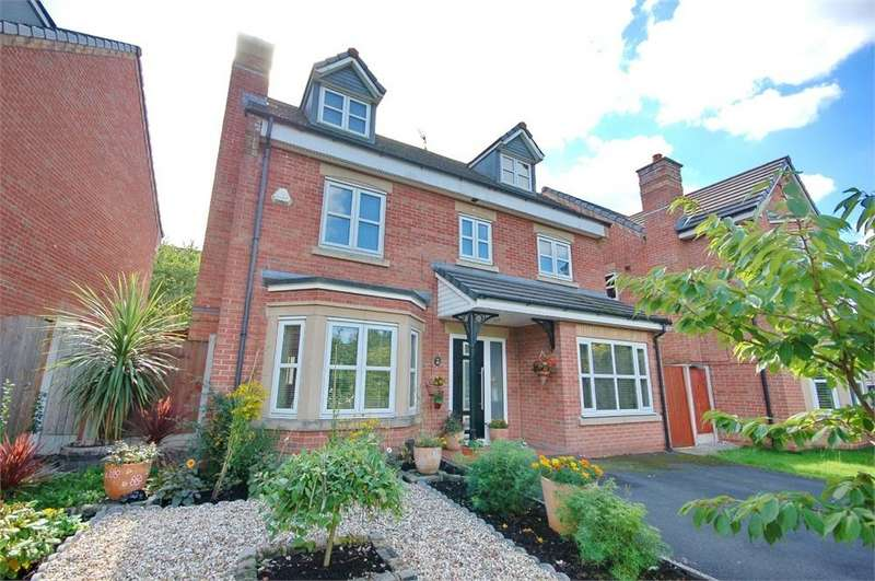 5 Bedrooms Detached House for sale in Japonica Gardens, New Bold, St Helens, Merseyside