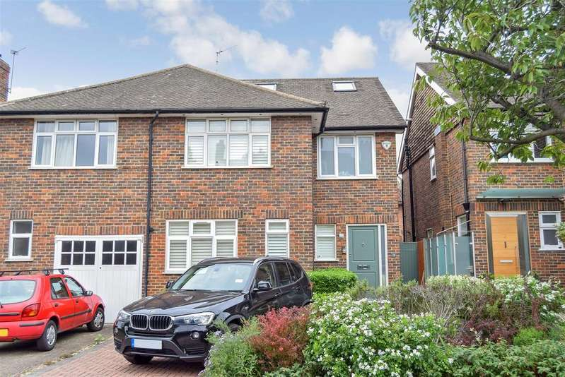 4 Bedrooms Semi Detached House for sale in Leopold Avenue, Wimbledon