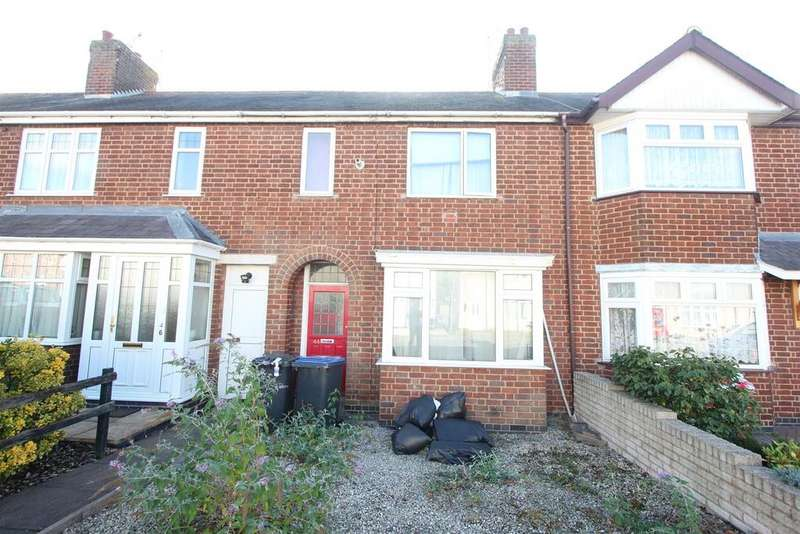3 Bedrooms Town House for sale in Glebe Road, Hinckley
