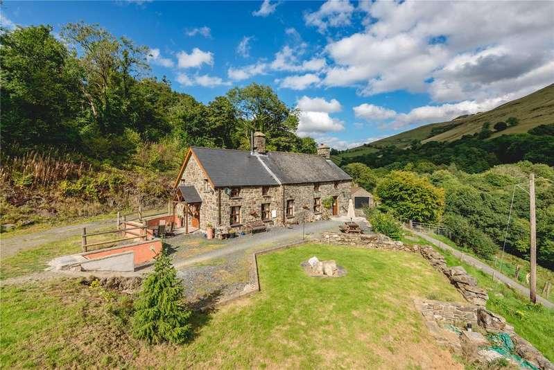 4 Bedrooms Detached House for sale in Cwm Cewydd, Machynlleth, Gwynedd