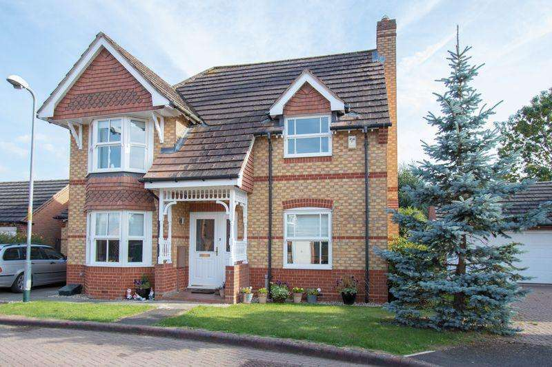 3 Bedrooms Detached House for sale in St. Lawrence Way, Tallington