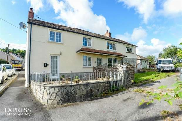 5 Bedrooms Detached House for sale in Bryncethin Road, Garnant, Ammanford, Carmarthenshire