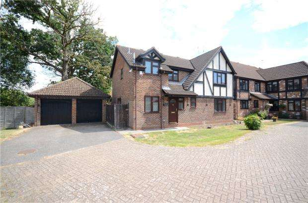 4 Bedrooms Detached House for sale in Bacon Close, College Town, Sandhurst