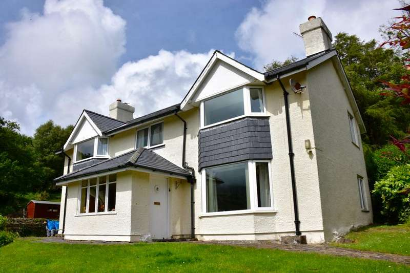 4 Bedrooms Detached House for sale in Tyn Llwyn, Caerdeon, LL42 1DZ