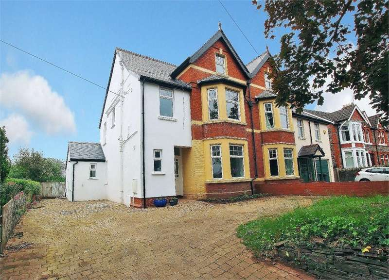 5 Bedrooms Semi Detached House for sale in Station Road, Llanishen, Cardiff