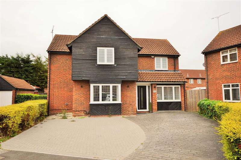 4 Bedrooms Detached House for sale in Burgundy Gardens, Basildon