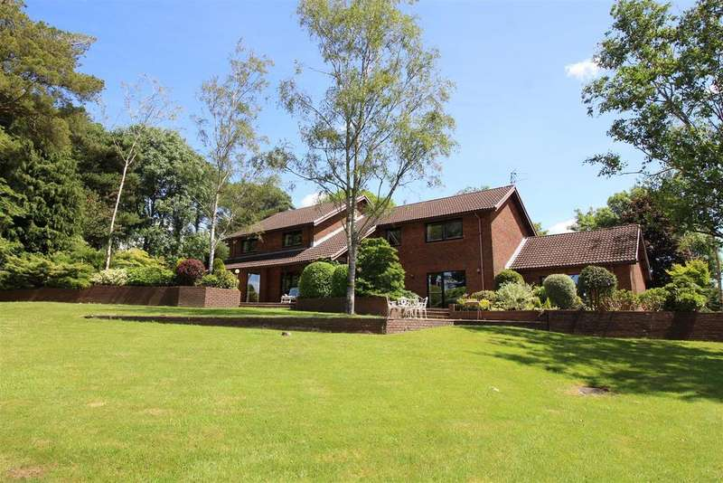 6 Bedrooms Detached House for sale in Llanhennock, Newport