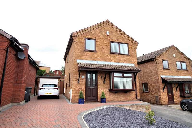 3 Bedrooms Detached House for sale in Broad Valley Drive, Bestwood Village, Nottingham, NG6