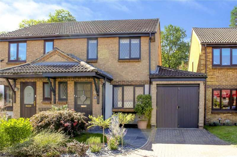 3 Bedrooms Semi Detached House for sale in Westcombe Close, Forest Park, Bracknell, Berkshire, RG12