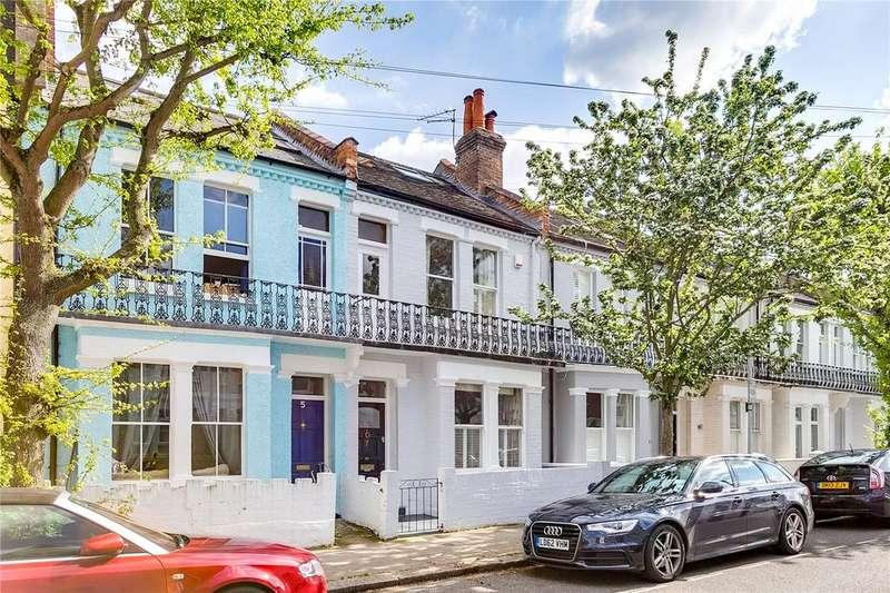 4 Bedrooms Terraced House for sale in Allestree Road, Fulham, London