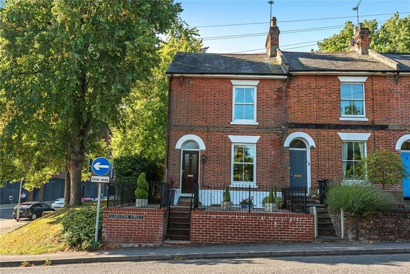 3 Bedrooms End Of Terrace House for sale in Gladstone Street, Winchester, Hampshire, SO23