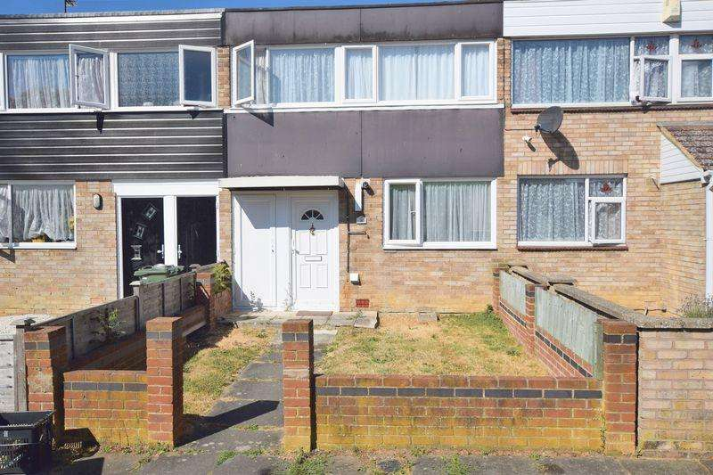 3 Bedrooms Terraced House for sale in Meriland Court, Bletchley, Milton Keynes