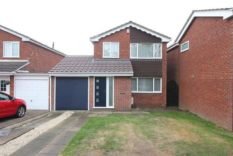 3 Bedrooms Detached House for sale in Farndon Drive, Stoney Stanton