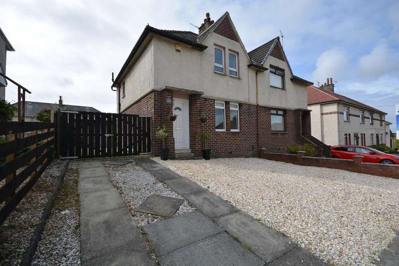 2 Bedrooms Semi Detached House for sale in Sannox Road, Kilmarnock, KA1