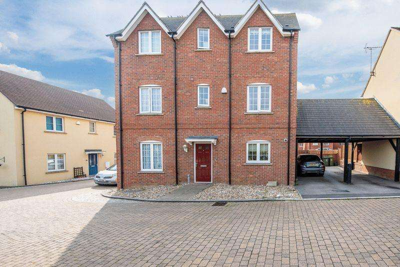 4 Bedrooms Town House for sale in Leys Close, Aylesbury