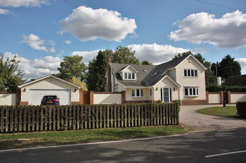 5 Bedrooms Detached House for sale in Blackmore Road, Hook End, Brentwood, CM15