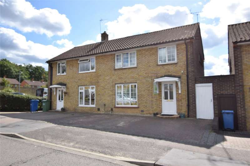 3 Bedrooms Semi Detached House for sale in Lily Hill Road, Bracknell, Berkshire, RG12