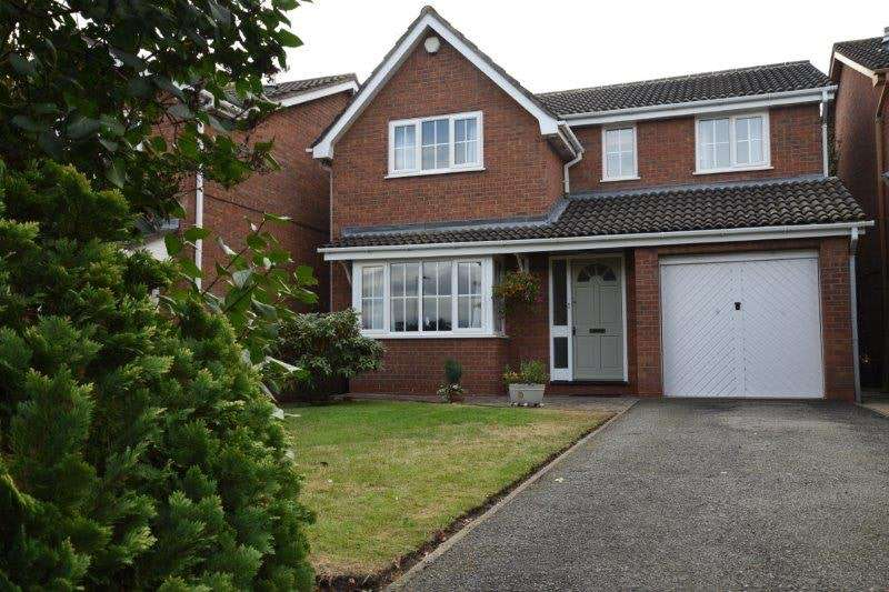 4 Bedrooms Detached House for sale in Cannon Way, Chester, Flintshire, CH4