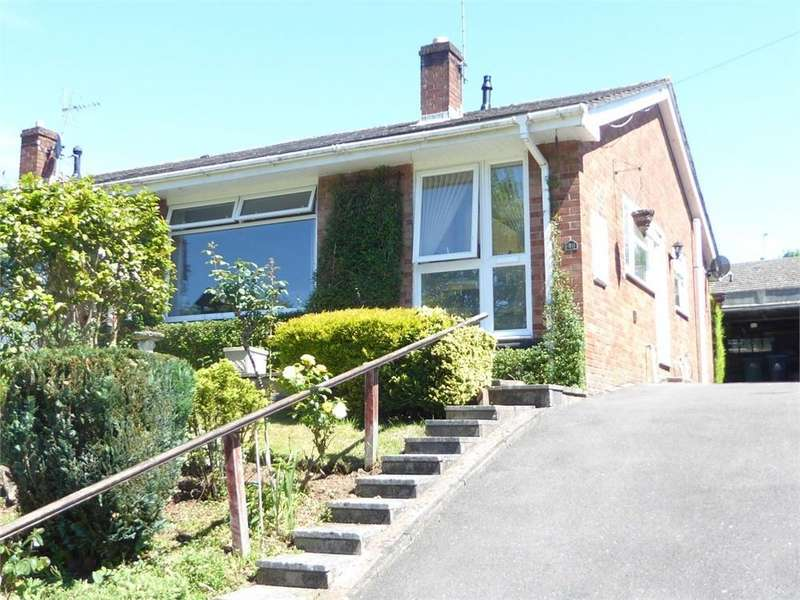2 Bedrooms Semi Detached Bungalow for sale in Wyebank Road, Tutshill