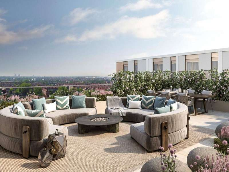 3 Bedrooms Penthouse Flat for sale in Belvedere Row, White City Living, White City, W12