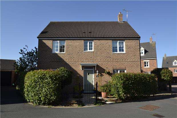 4 Bedrooms Detached House for sale in Coltishall Close, Quedgeley, GLOUCESTER, GL2 4RQ