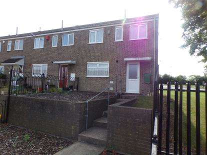 2 Bedrooms End Of Terrace House for sale in Chichester Close, Top Valley, Nottingham, Nottinghamshire