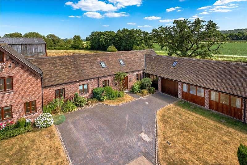 3 Bedrooms Barn Conversion Character Property for sale in Sutherland Barn, Burlington Court, Burlington, Shifnal, Shropshire, TF11
