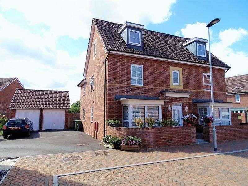 5 Bedrooms Detached House for sale in Rosemary Way, Melksham