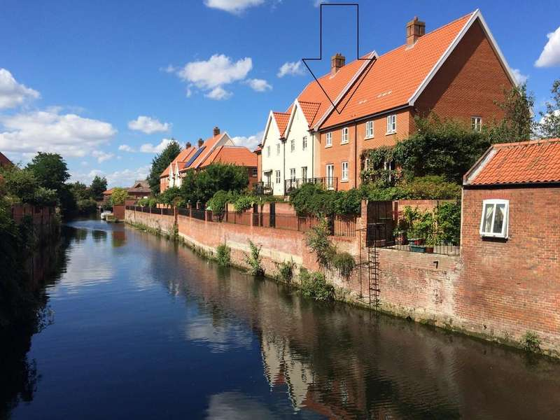 4 Bedrooms Town House for sale in Norwich