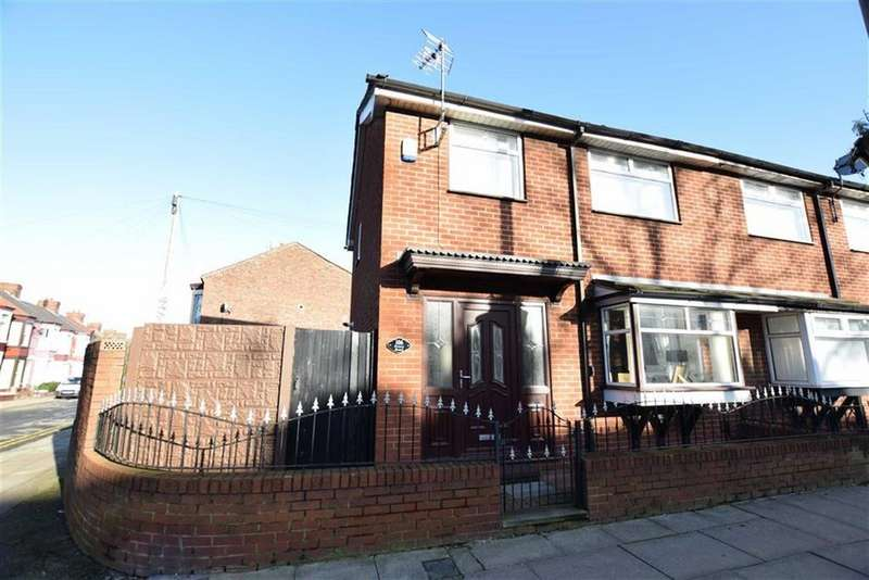 3 Bedrooms End Of Terrace House for sale in Priory Road, Anfield, Liverpool